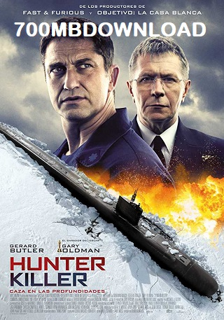 Hunter Killer 2018 English 1GB HDCAM 720p