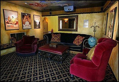 Movie Themed Bedrooms   Home Theater Design Ideas   Hollywood Style Decor   Movie  Decor   Part 46