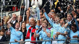 Manchester City win the FA Cup; Bayern Munich triumph to win Bundesliga