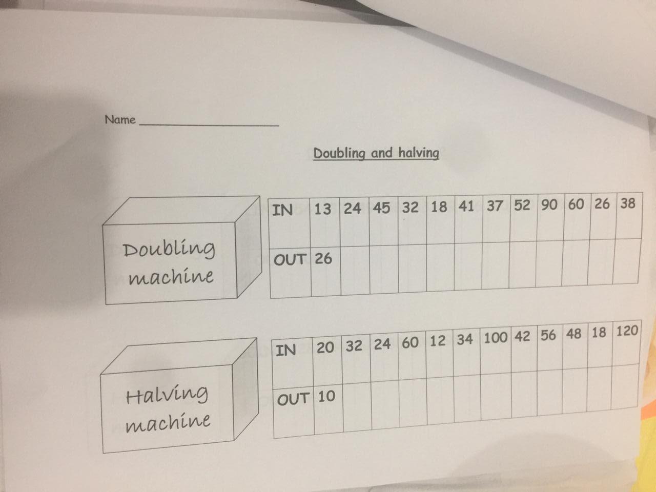 Math Revision Worksheet 3