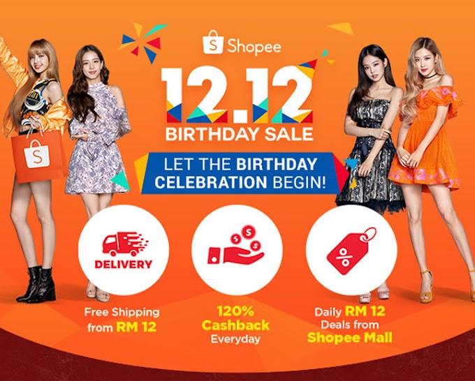 Gila Syok Shopping Online Shopee 12 12