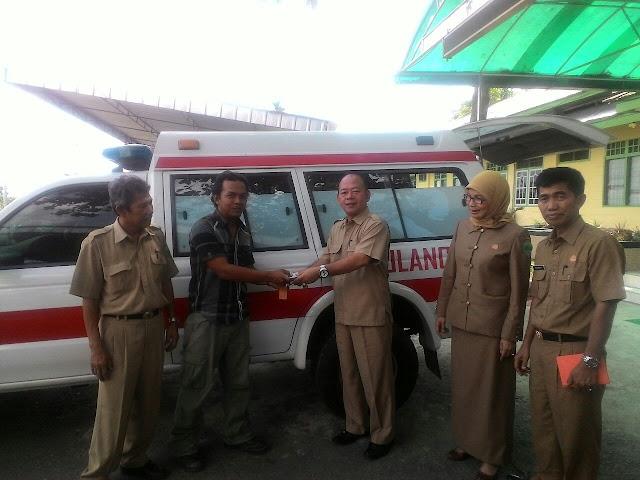 Dapat Ambulan, Semoga Pihak Swasta Bisa Seperti PT.HPM