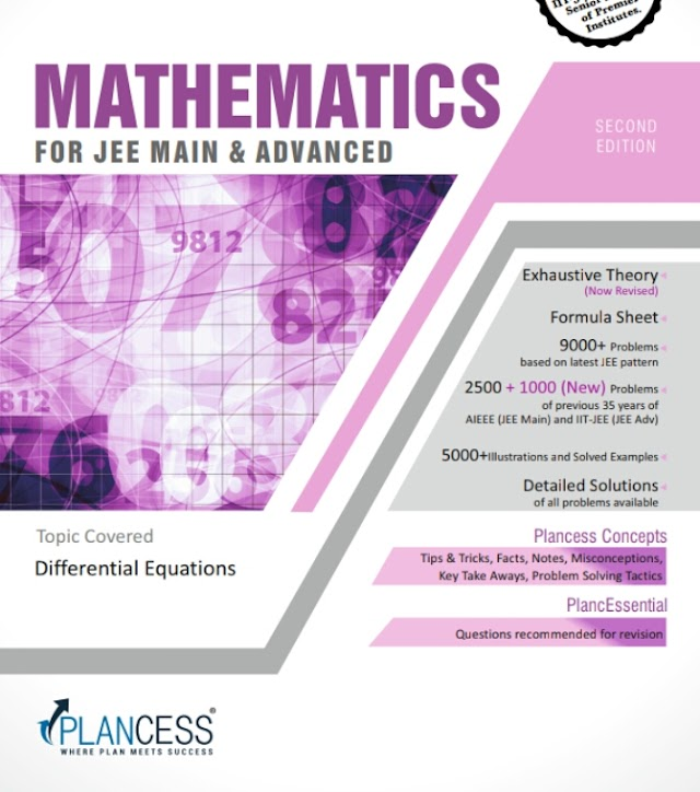 DIFFERENTIAL EQUATIONS NOTE BY PLANCESS