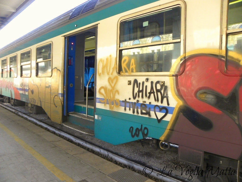 vagone ferroviario particolare