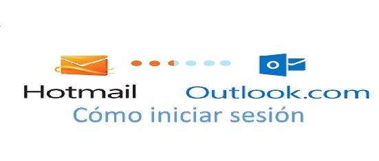 cómo iniciar sesión en Hotmail y Outlook.com