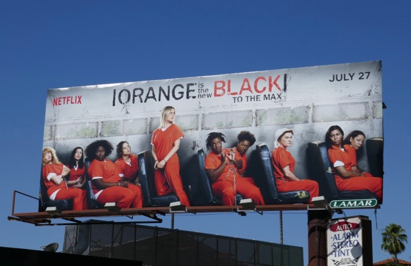 Orange New Black season 6 max billboard