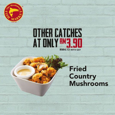 The Manhattan FISH MARKET Fried Country Mushrooms