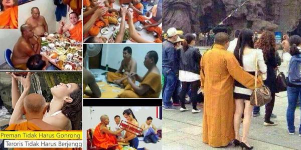 Fakta Paling Nyata Kehidupan Mewah Sami Buddha yang Membunuh Islam Rohingya