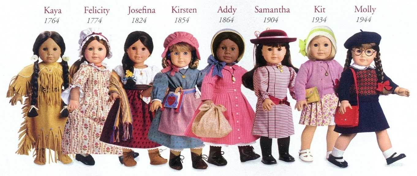 New American Girl Addy/'s BeForever Dress From Meet Outfit Julie Kit Samantha