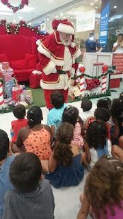 Shopping Pátio Alcântara recebeu a visita das crianças do Lar Anjo Rafael