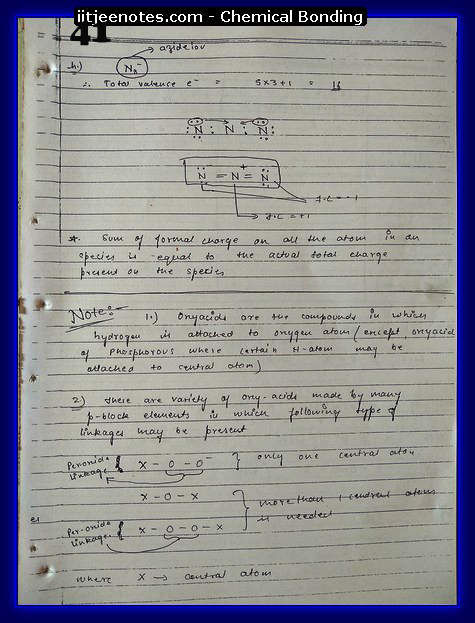 Chemical Bonding Notes IITJEE 18