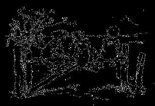 children fence download field tree image