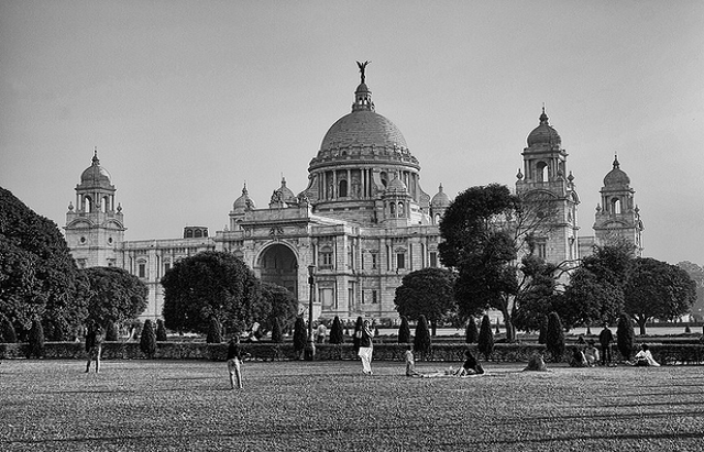 Victoria Memorial is dedicated to the memory of Queen Victoria.