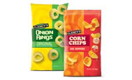 A terrible, low-quality stock photo of Clancy's Original Onion Rings, from Aldi