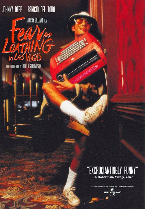 Loathing Fear Vegas And Las Poster