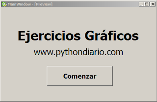 Ejercicios Python con librería PyQt4