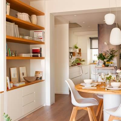 Coloca baldas a medida en pequeños espacios de tu hogar