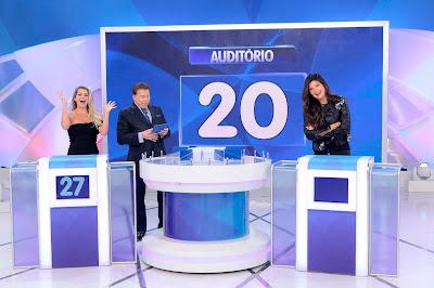 Karina, Silvio e Cristiana (Crédito: Lourival Ribeiro/SBT)