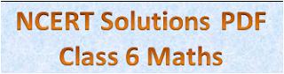 NCERT Solutions for Class 6 Maths