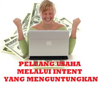 peluang usaha melalui internet yang mentuntungkan