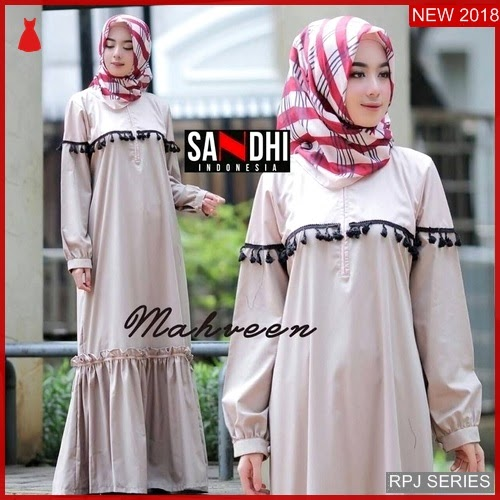 RPJ216D198 Model Dress New Cantik Mahveen Wanita