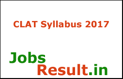 CLAT Syllabus 2017