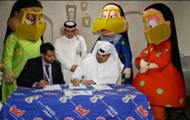 firma de algún contrato serio