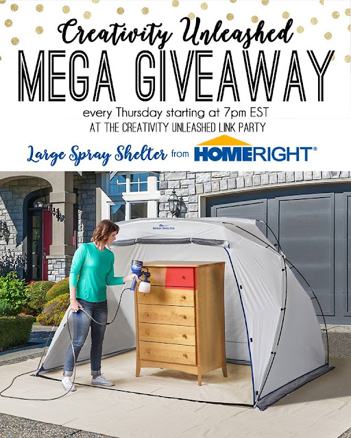 Enter to win an awesome HomeRight Large Spray Shelter at MyLove2Create