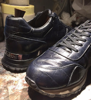 Louis Vuitton, restauration sneakers, nettoyage sneakers paris, paulus bolten, entretien sneakers