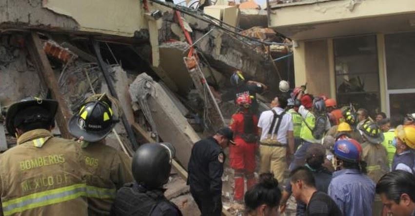 TERREMOTO EN MÉXICO: Denuncian que colegio derrumbado donde fallecieron más de 20 niños, habría funcionado con licencia irregular (Escuela Enrique Rébsamen)