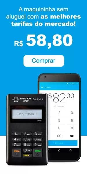 Maquininha de Cartão Mercado Pago Point - Comprar