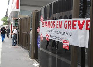 Bancários confirmam greve geral a partir desta terça-feira (06) em todo o país