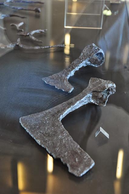 Staré Město, Uherské Hradiště Muzeum na Valach - topory wielkomorawskie