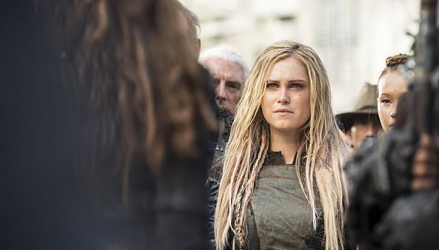 Clarke en la tercera temporada de 'The 100'