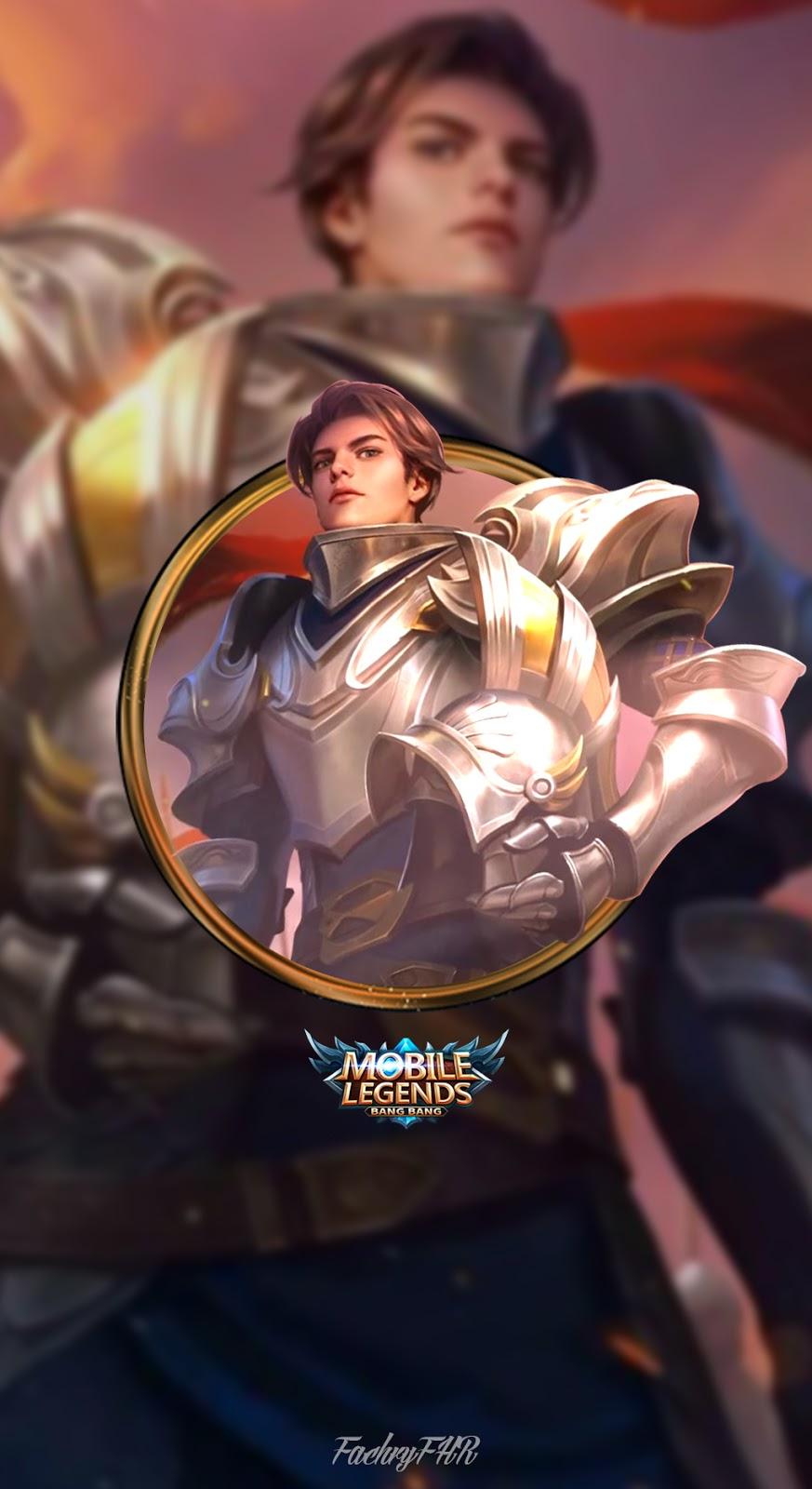 Wallpaper Mobile Legends Zilong Shining Knight By