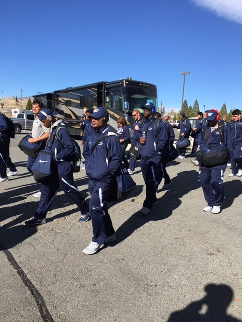 Nevada Wolf Pack football walk