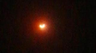penampakan gerhana matahari di jakarta