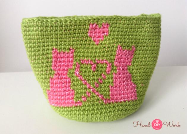 Monedero crochet con cremallera mas tapestry | HandworkDIY