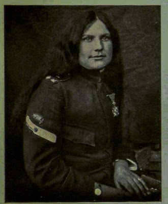 Milunka Savic, sergeant, the brave Sumadia-woman wounded 5 times.
