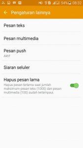 Selanjutnya pilih opsi pesan teks