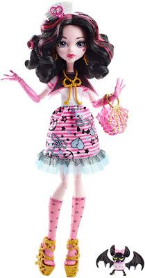 TOYS : JUGUETES - MONSTER HIGH  Shriek Wrecked - Draculaura : Muñeca - Doll  Producto Oficial 2016 | Mattel DTV90 | A partir de 6 años  Comprar en Amazon España & buy Amazon USA