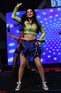 Sunny Leone Dancing on stage At Rogue Movie Audio Music Launch ~  300.JPG