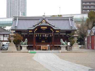 恵美須神社拝殿