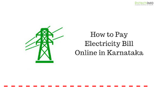 How to Pay Electricity Bill Online in Karnataka