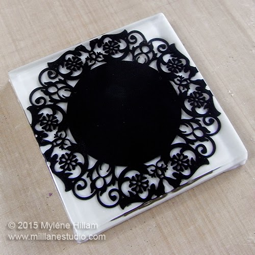 Resin Doiley Coaster