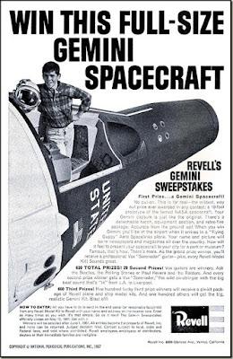 Win this full-size Genini Spacecraft