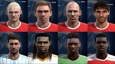 Facepack good quality x2 Pes 2013