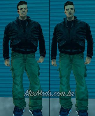 mod que corrige o filtro de texturas do Claude do GTA 3