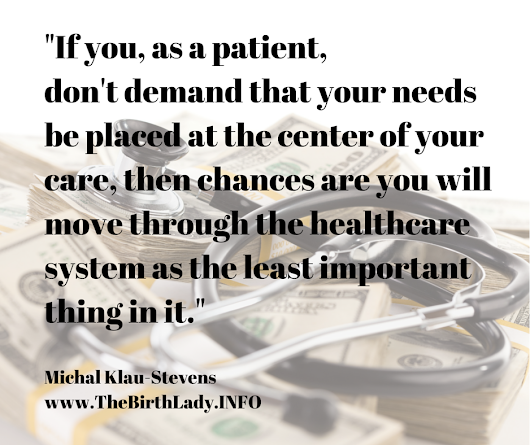 Healthcare is about YOUR health.