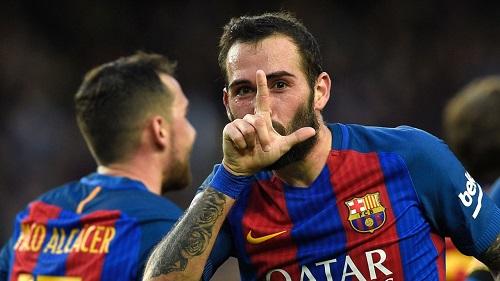 Khả năng thay thế cho Dani Alves của Aleix Vidal ở Barca là rất lớn